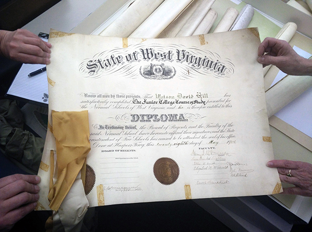 WVRHC Staff hold a Diploma from the Storer College