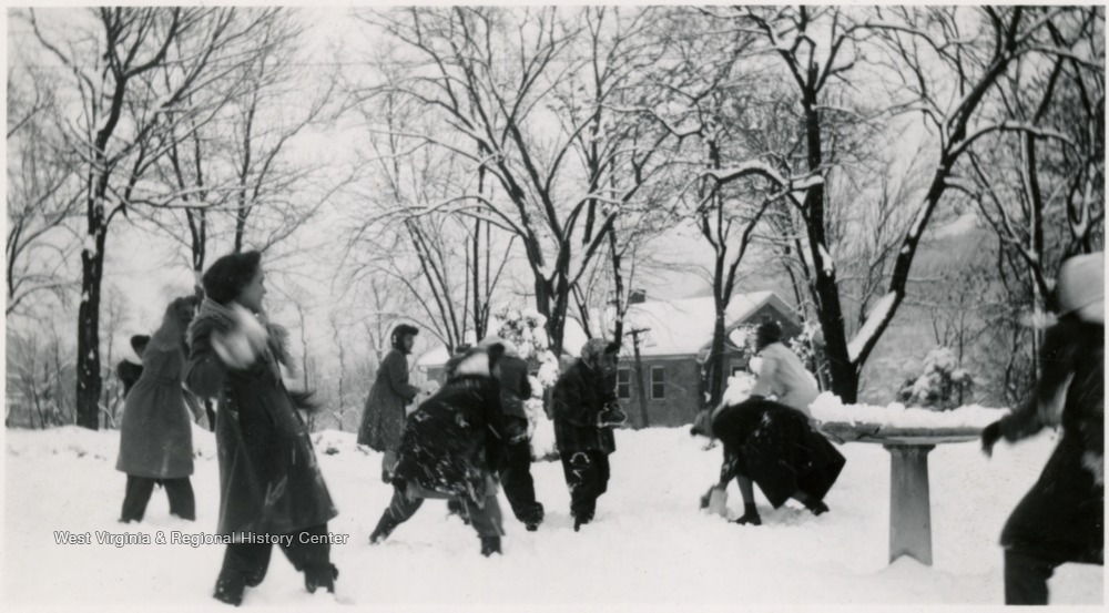Likely during the 'Great Snow of 1941.'