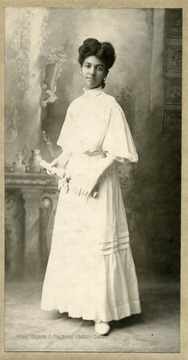 Portrait of African-American student, Mary Clifford.