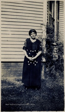 Candid portrait of Miss Mason in 1924.