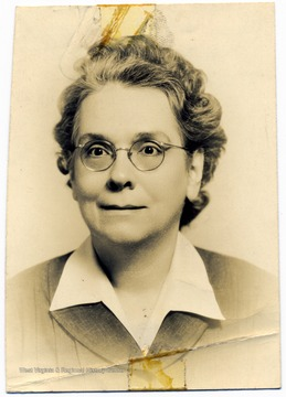 Portrait of Rachel Holbrook Seagrave faculty/staff member at Storer College in March 1943.