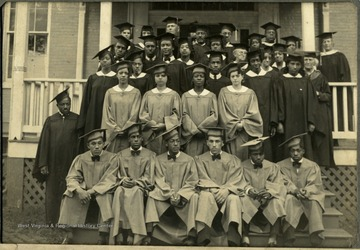 Class of 1934: 'Miss Maxson, Miss Frazer, Pres. McDonald, Prof. Winters, Briscoe, Saunders, Moore, Francis, Hancock, Harvey, Canaday, Miss Church, Mrs. Drew, Miss Blagden, Miss Tatter, Mrs. Daniel, Dean McDonald, Mills, Waters, Janes, Macklin, Porter, Miss Benedict, Green, Smith, Jackson, Goene, Gray, Schafer, Stewart, Brown, Brown, Brown, Willis. 'Several Missing''