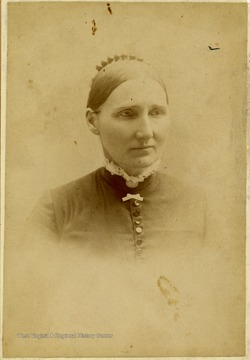 'Mrs. Anne L. Dudley Bates, 114 E. Pleasant Ave. Syracuse, N.Y. Named Dudley Chapel after her. One of the first missionary workers in the valley and at the college.'