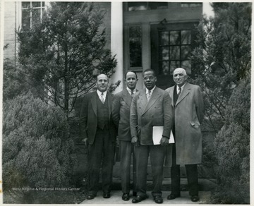 President Richard McKinney third from left.