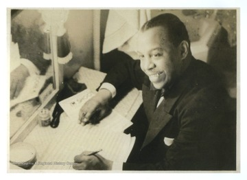 Redman (1900-1964) was a prominent jazz musician, arranger, band leader, and composer.  Born in Piedmont, West Virginia, he graduated from Storer College in Harpers Ferry, W. Va. in 1920, and he also graduated from the Boston Conservatory.  Redman became a member of the West Virginia Music Hall of Fame in 2009.